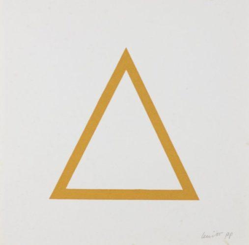 Five Geometric Figures In Five Colors, Plate #07 by Sol LeWitt at www.kunzt.gallery