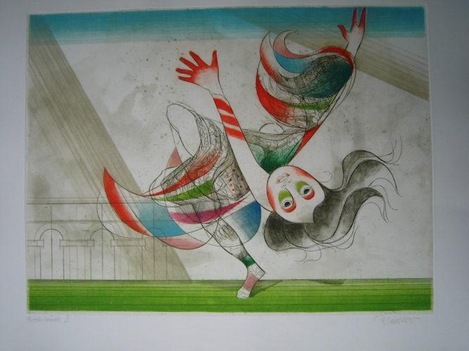 Tanz Der Salome by Alfred Finsterer