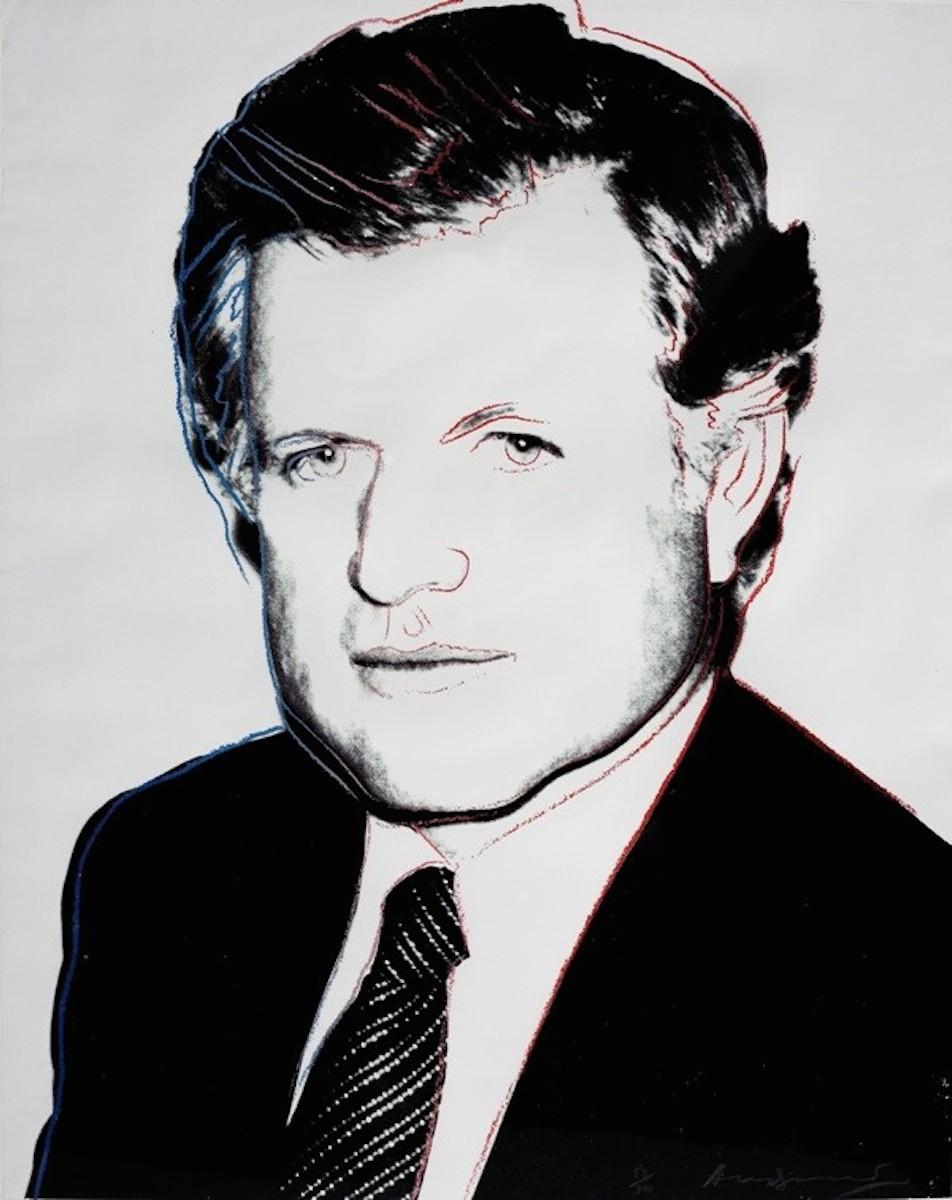 Edward Kennedy (fs Ii.240) by Andy Warhol