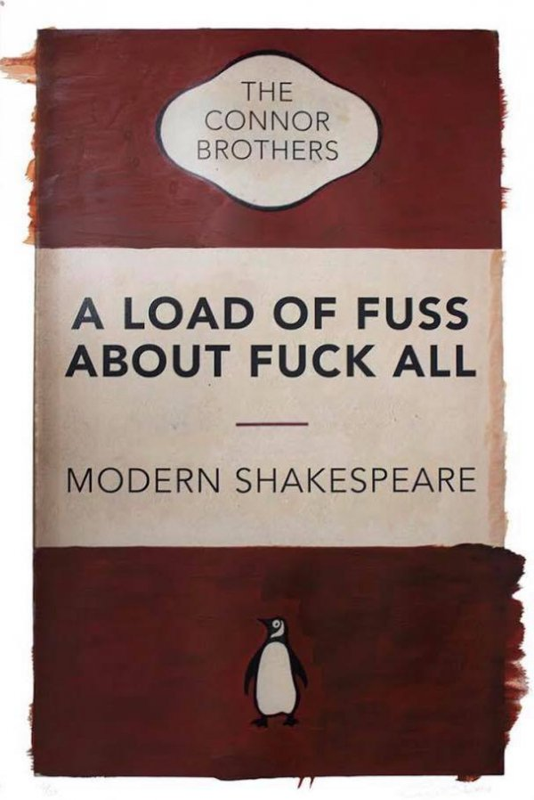 A Load Of Fuss – Modern Shakespeare (red) by The Connor Brothers