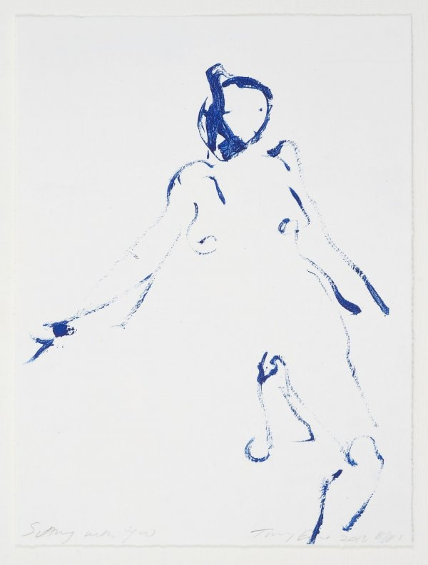 Sitting With You by Tracey Emin