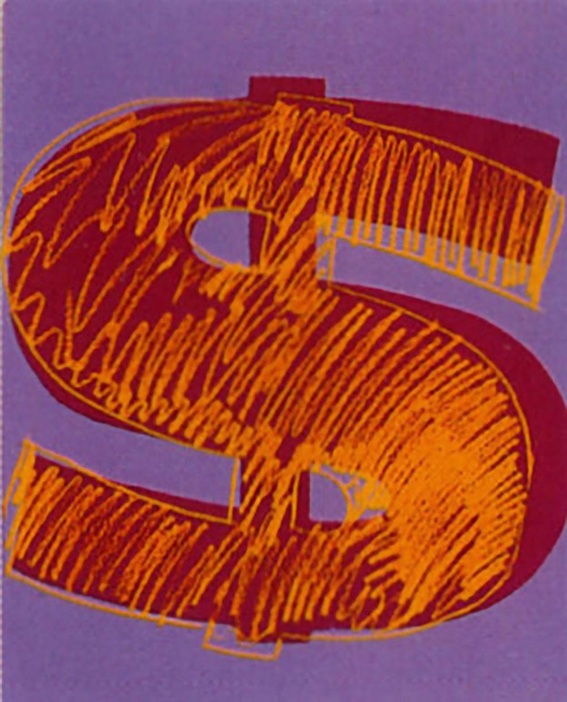 Dollar Sign (fs Ii.280) by Andy Warhol