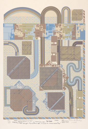 Day And Night by Eduardo Paolozzi at ModernPrints.co.uk