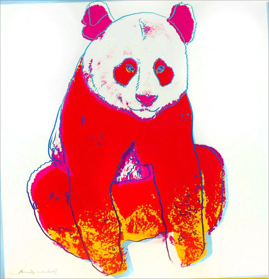 Giant Panda (fs Ii.295) by Andy Warhol