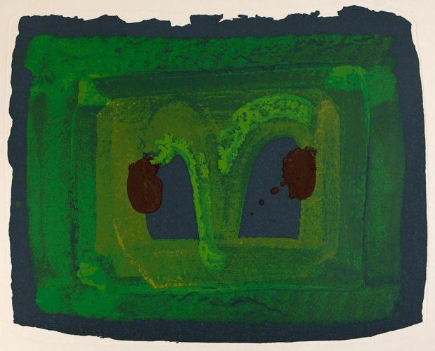 Lotus by Howard Hodgkin at