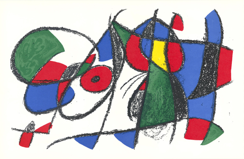 Untitled by Joan Miro at Sylvan Cole Gallery