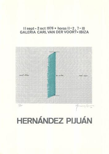 Cartel De La Exposición…. by Joan Hernandez Pijuan