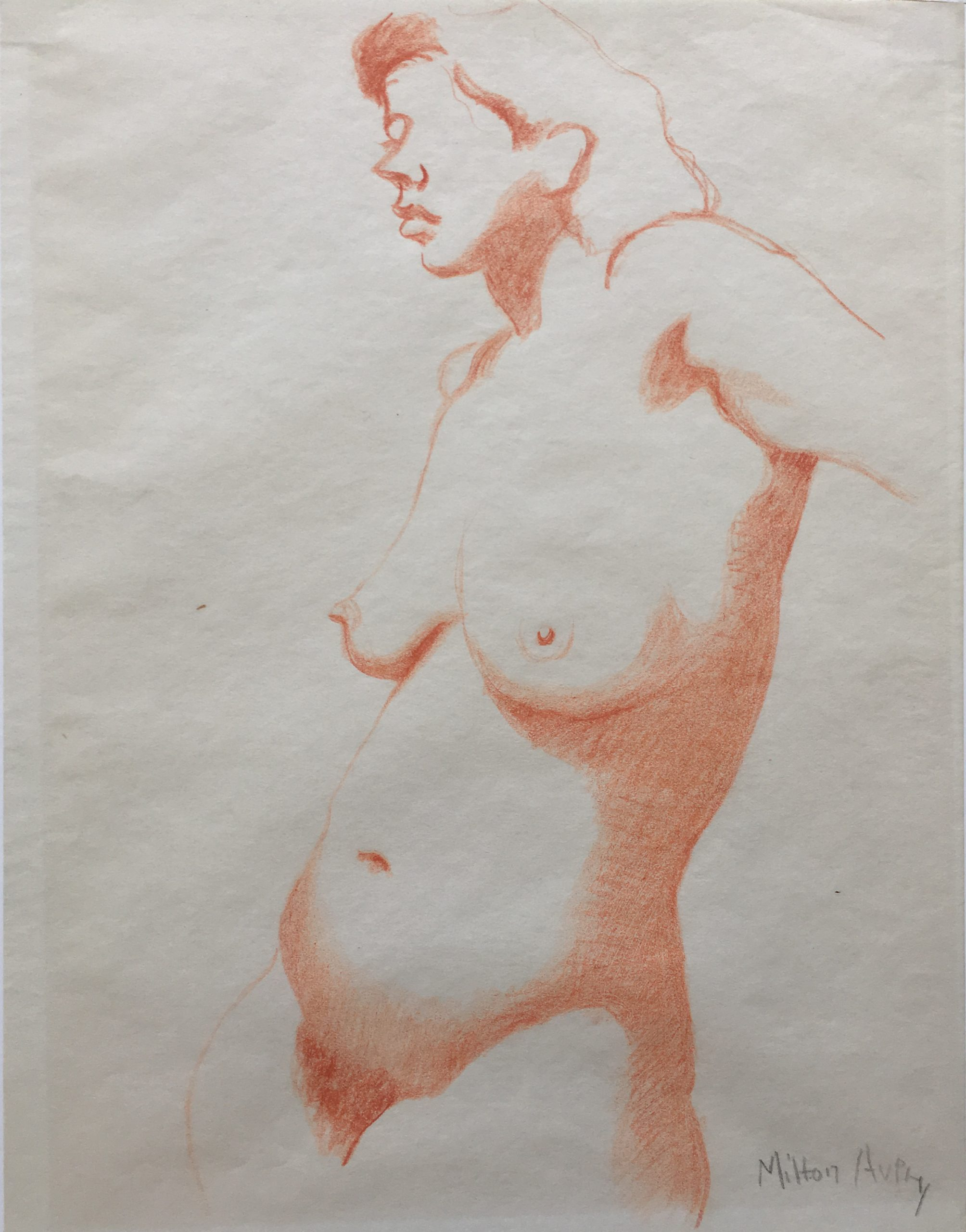 Standing Nude by Milton Avery