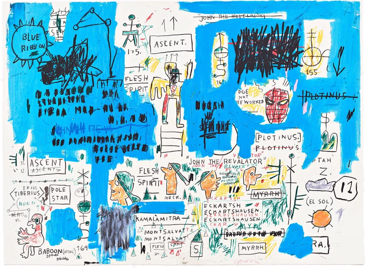 Ascent by Jean-Michel Basquiat