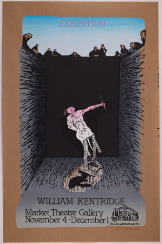 Exhibition William Kentridge (pit Monotypes) by William Kentridge