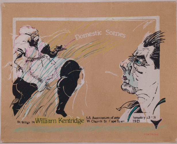 Domestic Scenes by William Kentridge