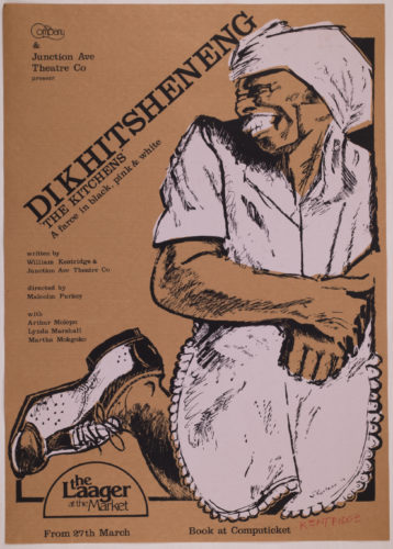 Dikhitsheneng (the Kitchens) by William Kentridge