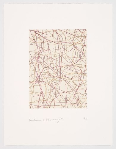 Untitled: A Suite Of Five Prints by William Burroughs at
