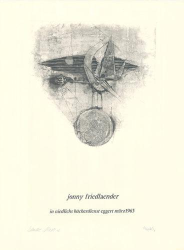 Jonny Friedlaender In Niedlichs…. by Johnny Friedlaender at