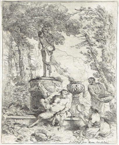 The Feast Of Pan by Giovanni Benedetto Castiglione