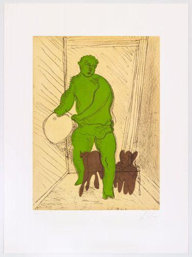 Green Man by Sandro Chia