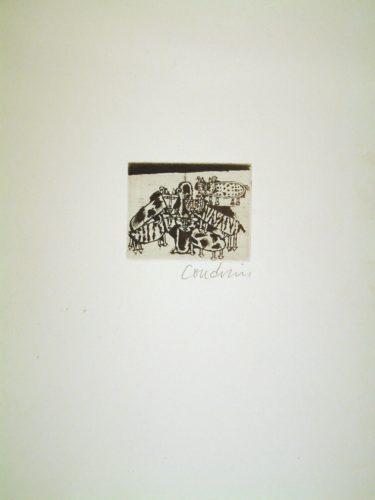 Laban Et Son Troupeau by Brigitte Coudrain