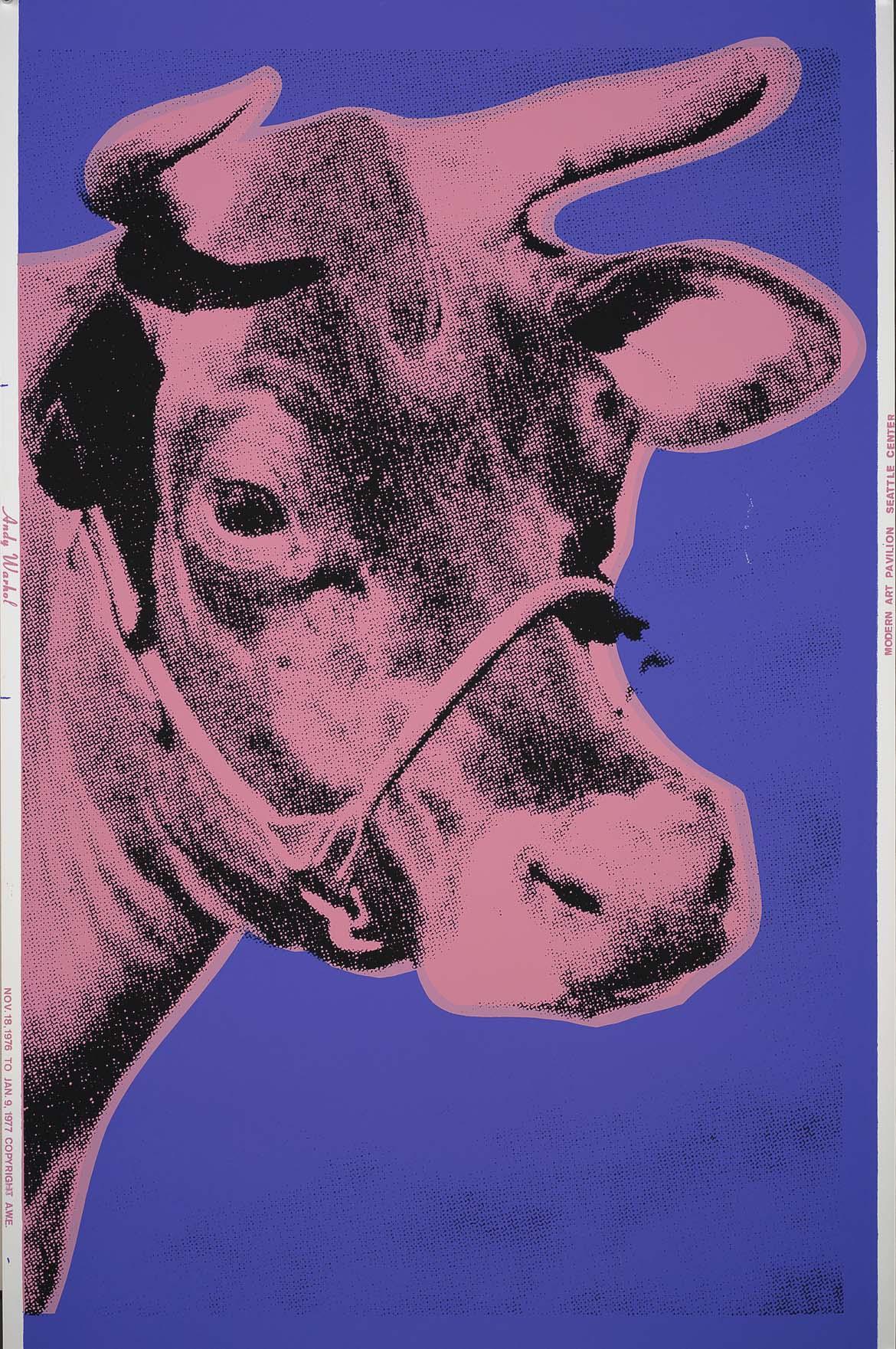Cow (fs Ii.12a) by Andy Warhol