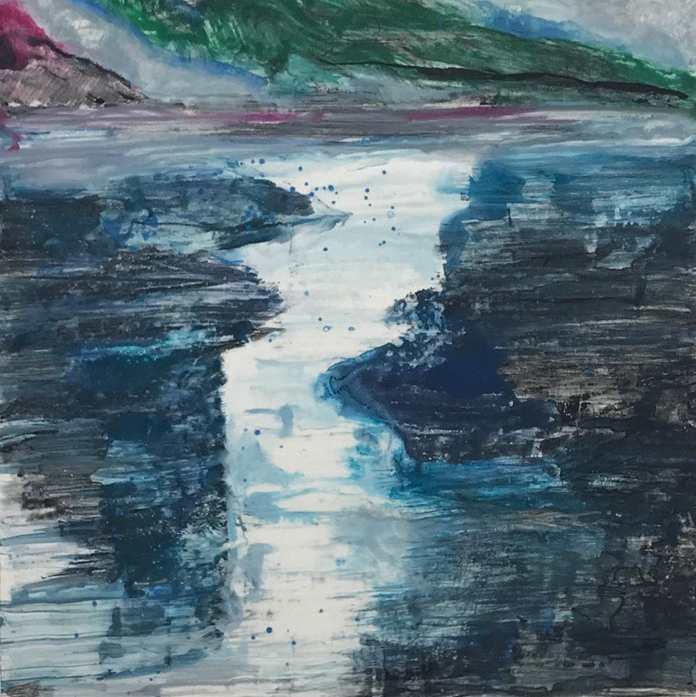 Departing Storm 1 by Deborah Freedman