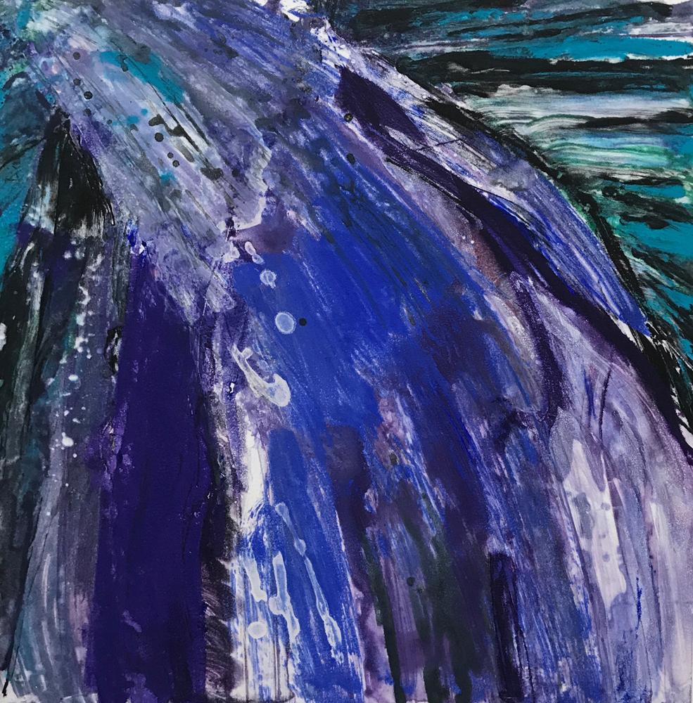 Departing Storm 5 by Deborah Freedman