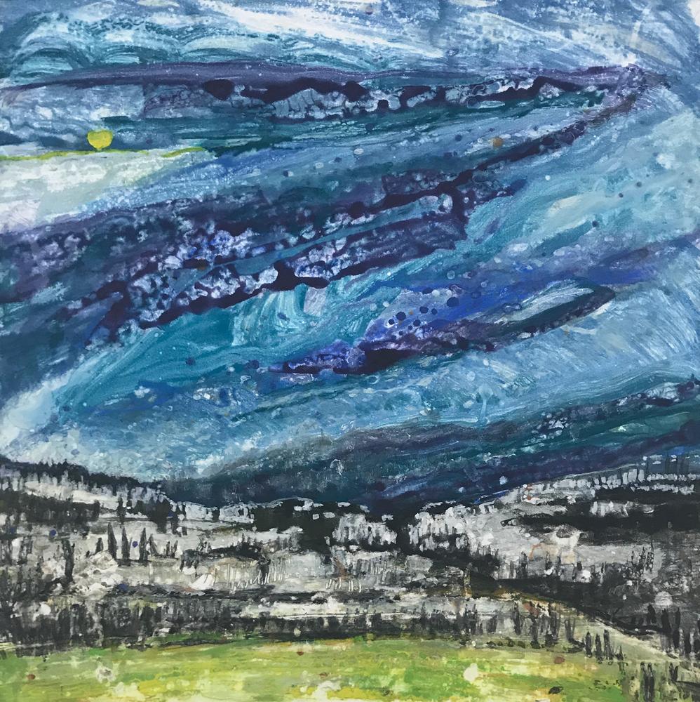 Departing Storm 8 by Deborah Freedman