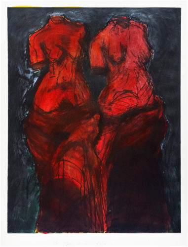 Red Light by Jim Dine at