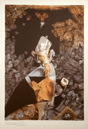 Bateau Bleu (la Grotte) by Dorothea Tanning