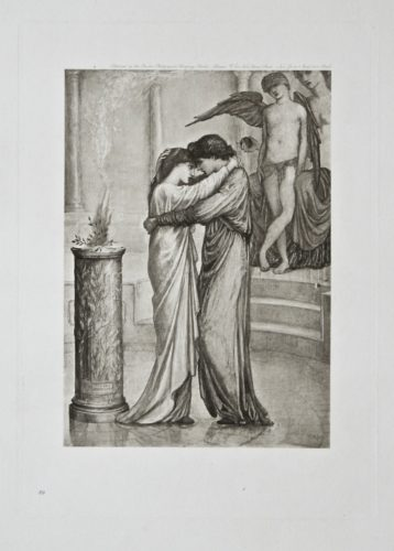 The Altar Of Hymen by Edward Burne-Jones at