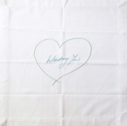 Wanting You (blue/green) by Tracey Emin at Lougher Contemporary