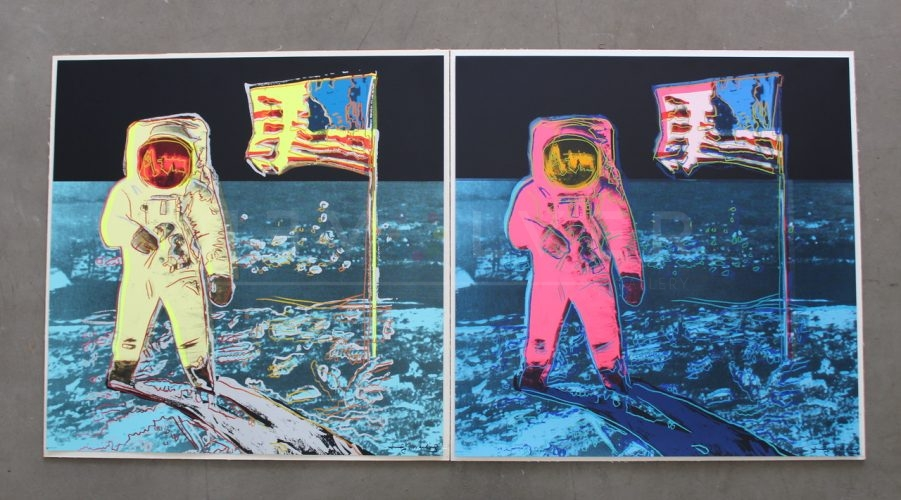 Moonwalk, Full Suite by Andy Warhol