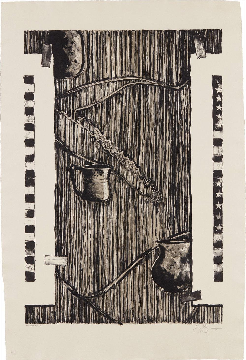 Ventriloquist by Jasper Johns