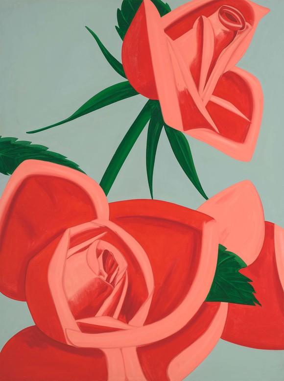 Rose Bud by Alex Katz