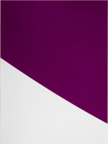 Purple Curve by Ellsworth Kelly