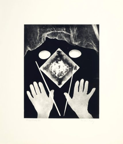 Hands And Eggs by Man Ray at