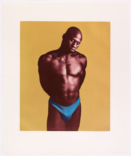 Untitled #2 From The Ken Moody Portfolio by Robert Mapplethorpe