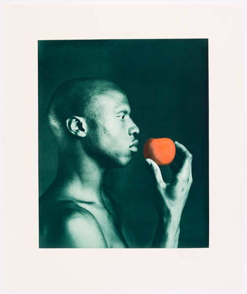 Untitled #3 From The Ken Moody Portfolio by Robert Mapplethorpe