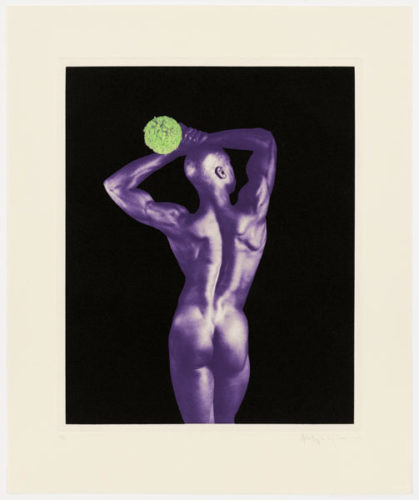 Untitled #5 From The Ken Moody Portfolio by Robert Mapplethorpe