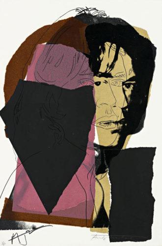 Mick Jagger (fs Ii.139) by Andy Warhol