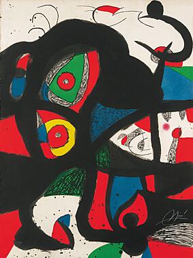 Gargantua by Joan Miro at Joan Miro