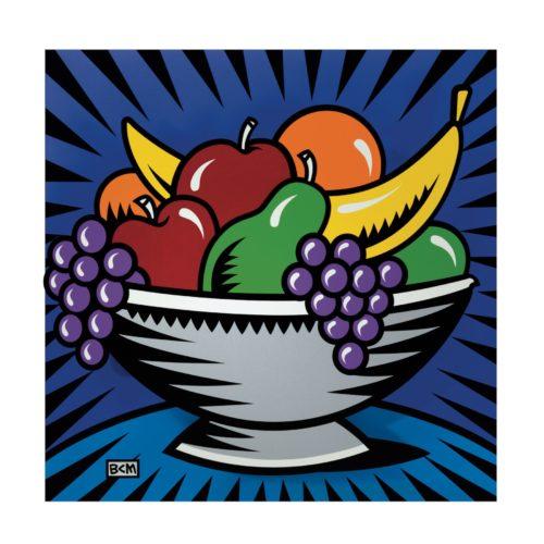 Fruit Bowl by Burton Morris