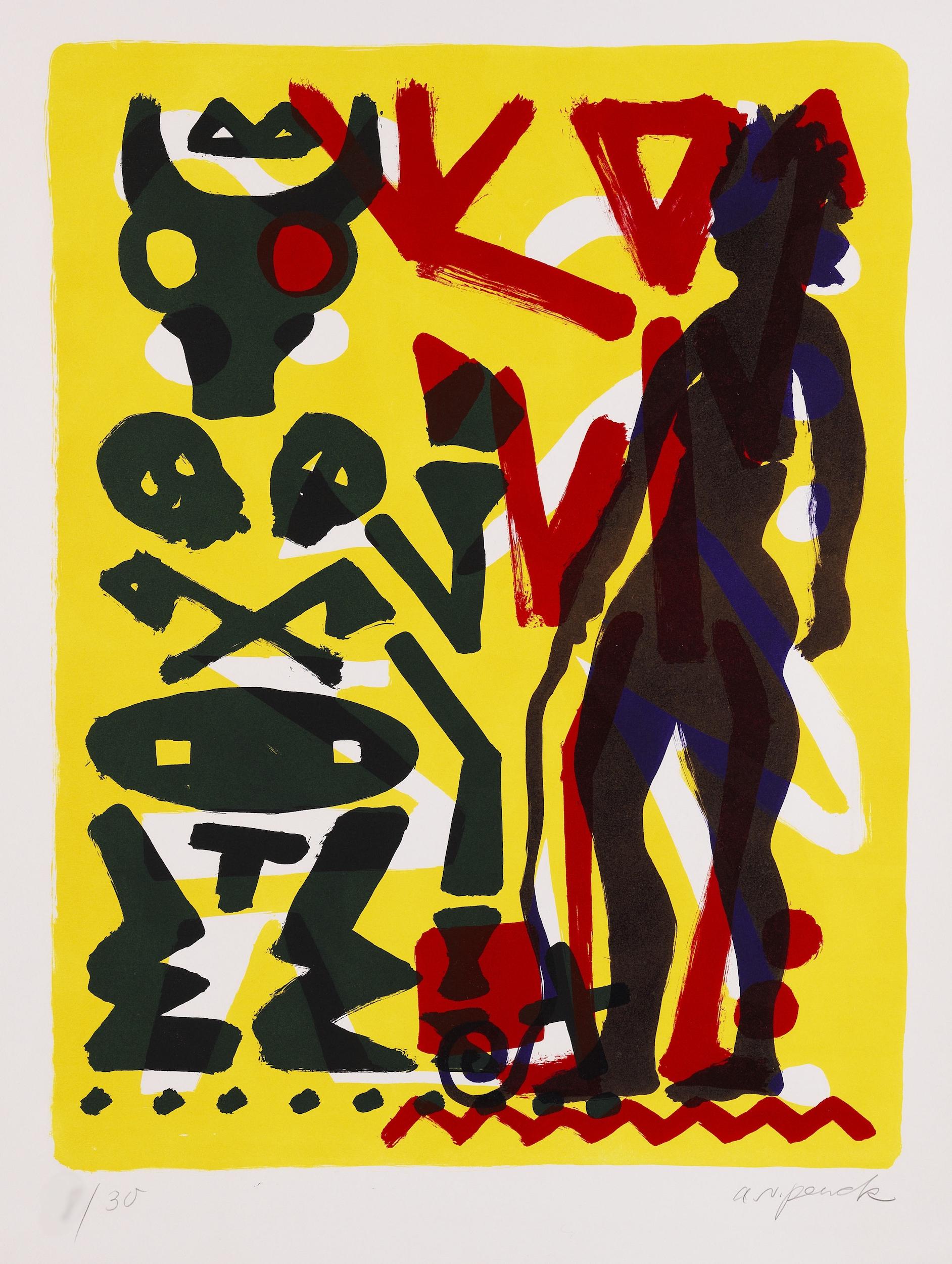 Ohne Titel by A.R. Penck