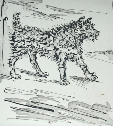 Le Chien (the Dog) by Pablo Picasso