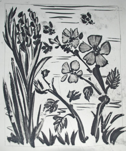 L'abeille (the Bee) by Pablo Picasso