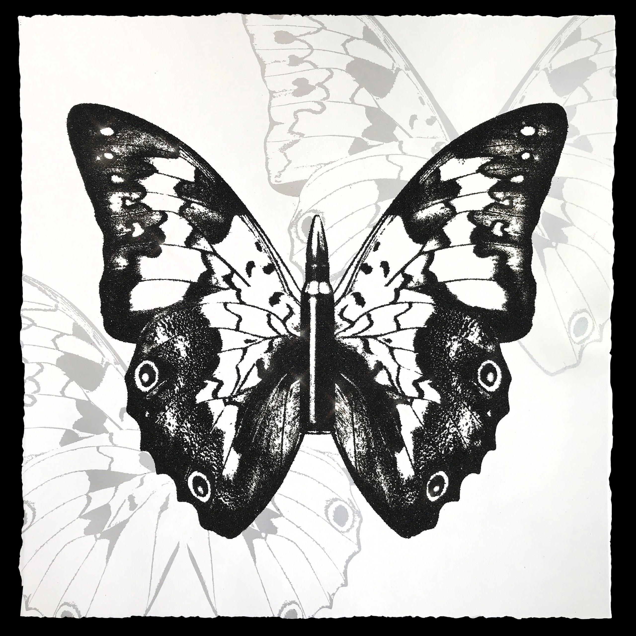 Metamorphosis – Black On White by Rubem Robierb