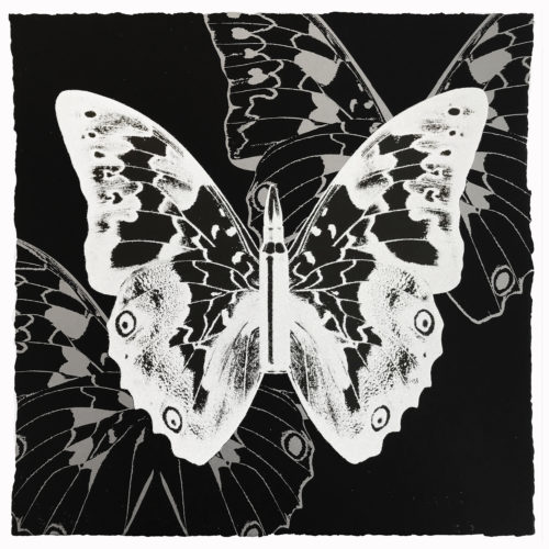 Metamorphosis – White On Black by Rubem Robierb at Rubem Robierb