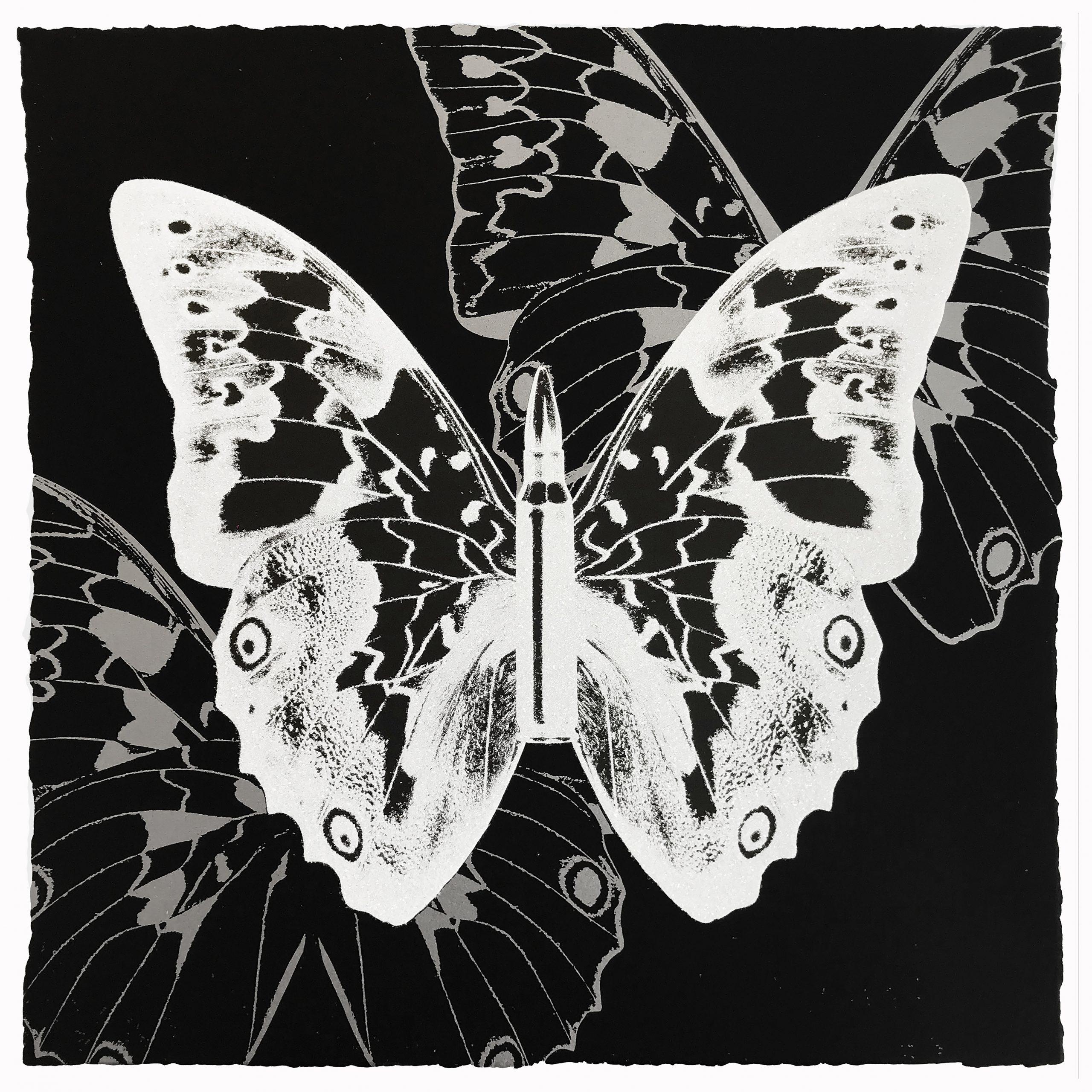 Metamorphosis – White On Black by Rubem Robierb