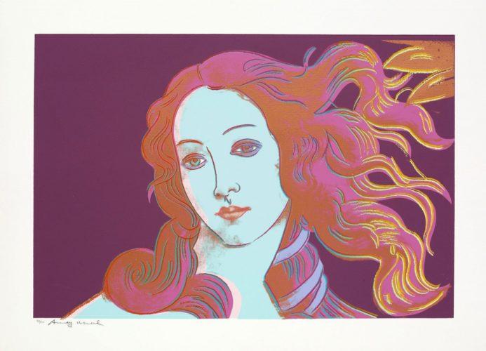 Birth Of Venus, 1482 (fs Ii.317) by Andy Warhol