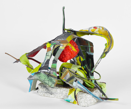 Strewn Armor by Iva Gueorguieva