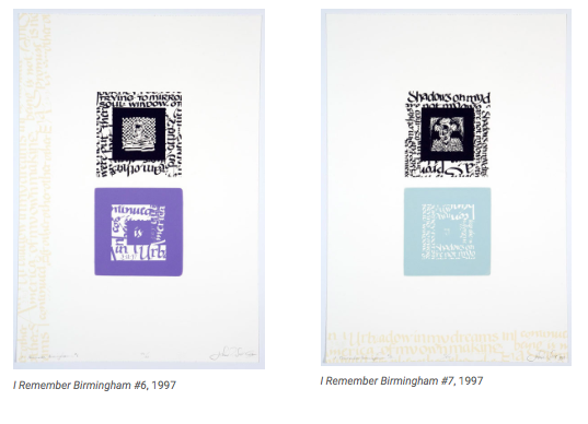 I Remember Birmingham #2–7 by John Scott