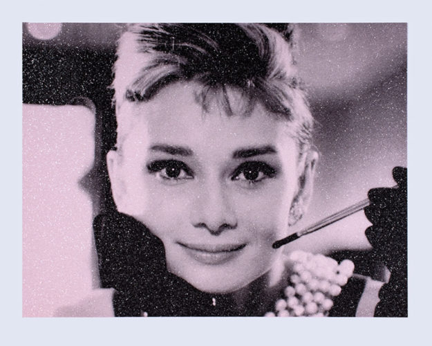 Audrey Hepburn by Russell Young at